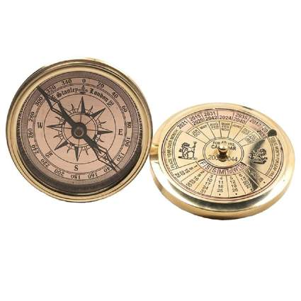 Authentic Models 40-Year Calendar and Compass