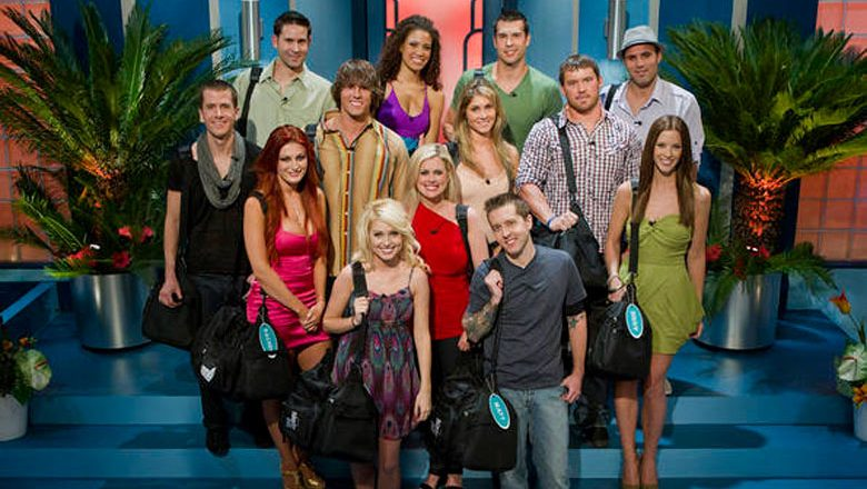 The cast of Big Brother 13