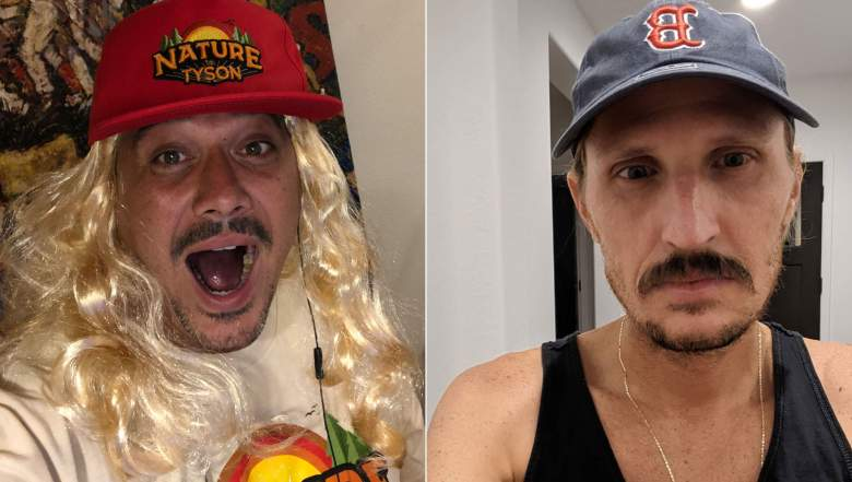 Boston Rob Mariano and Tyson Apostol dressed up as each other for Halloween 2020.