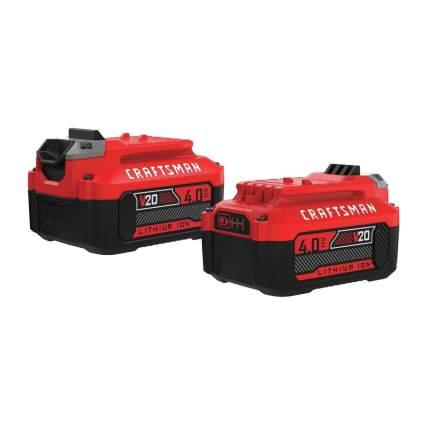 Save $30 on Craftsman V20 4.0Ah Battery 2-Pack