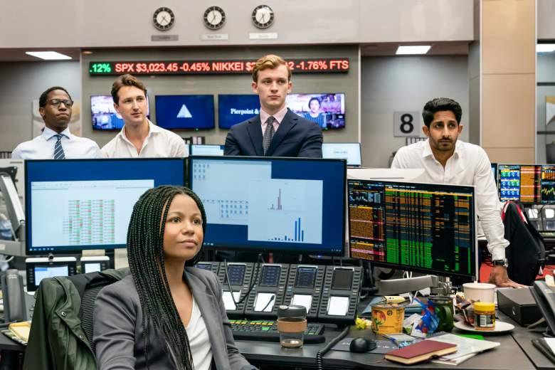 David Jonsson, Ben Lloyd-Hughes, Harry Lawtey, Sagar Radia, Myha'la Herrold in HBO's Industry
