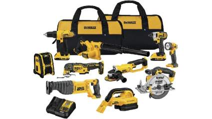 Cyber Monday Deals on DeWalt Tools