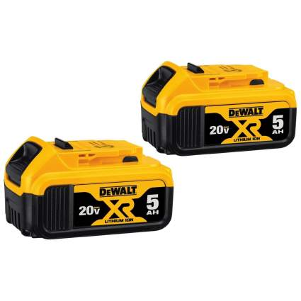 Save 47% on DeWalt 20V MAX 20V 5.0Ah Battery 2-Pack