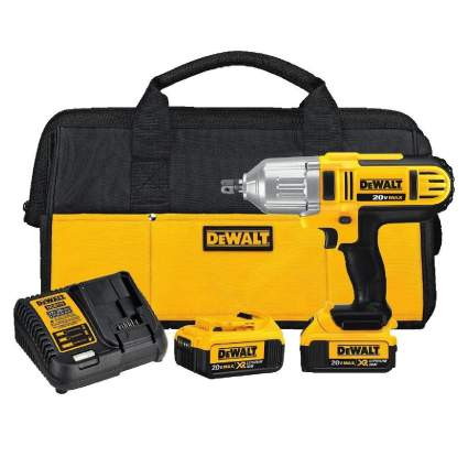 Save $83 on DeWalt 20V MAX 1/2-Inch Impact Wrench Kit