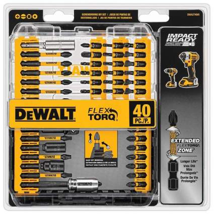 DeWalt 40-Piece FlexTorq Bit Set