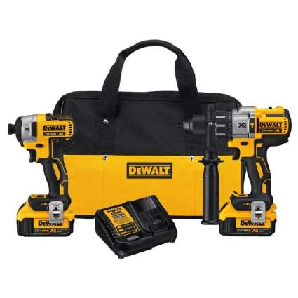 Save $70 on DeWalt 20V MAX Impact Driver and Hammer Drill Kit