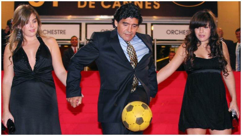 Diego Maradona family kids wife