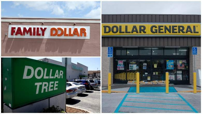 Dollar stores on Easter