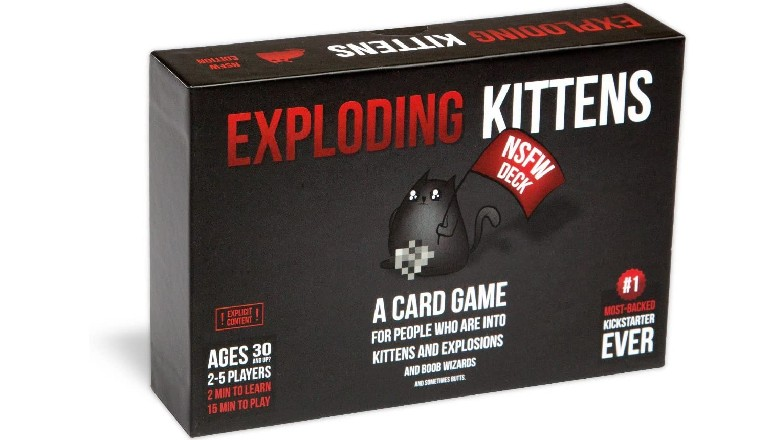 Save Up to 50% on Exploding Kittens Expansion Packs
