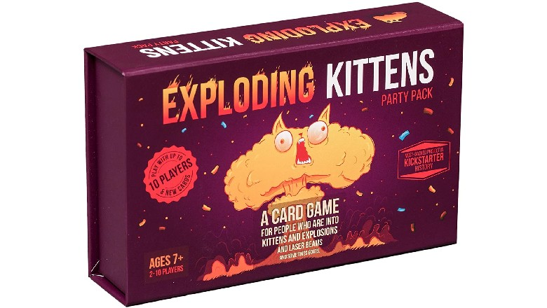 Save $15 on Exploding Kittens Party Pack