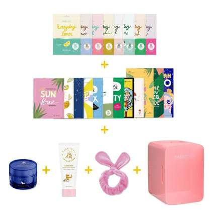 beauty fridge and mask bundle