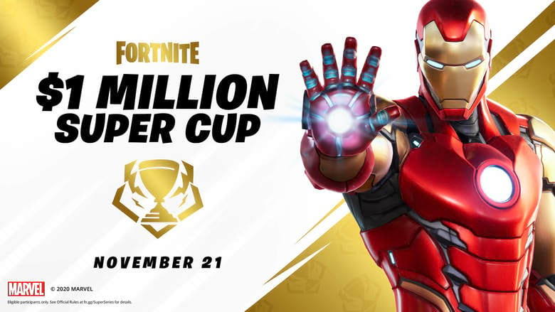 fortnite $1 million super cup