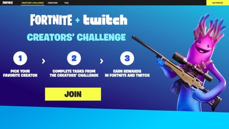 fortnite creators challenge twitch