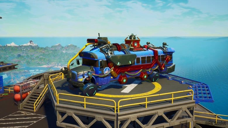 fortnite galactus bus bug