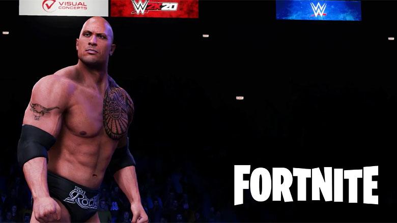 fortnite the rock skin