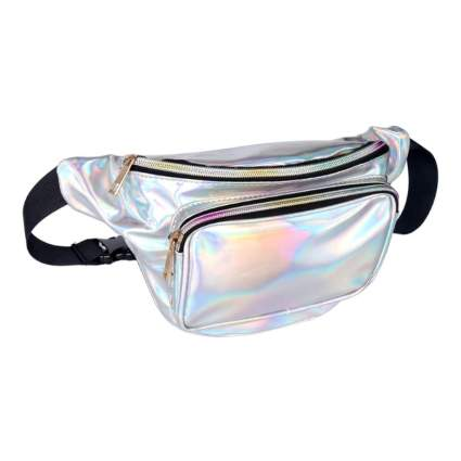 geestock holographic fanny pack