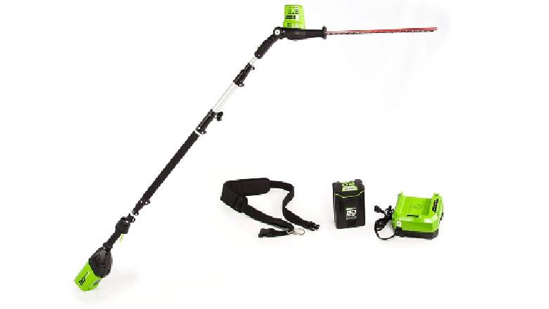 Greenworks Pro 80V 20-Inch Pole Hedge Trimmer