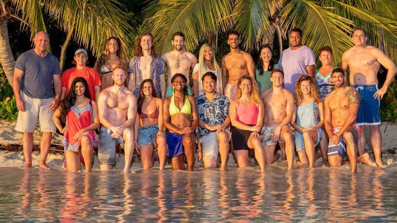The cast of Survivor: Island of the Idols
