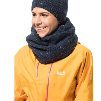 Jack Wolfskin Women's Merino Loop Knitted Neck Gaiter