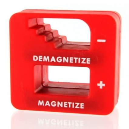 Katzco Red Precision Magnetizer and Demagnetizer