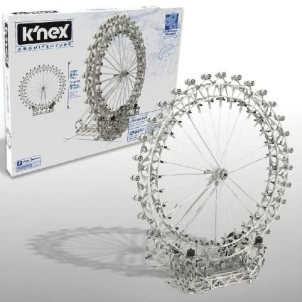 K'nex Architecture: London Eye Ferris Wheel