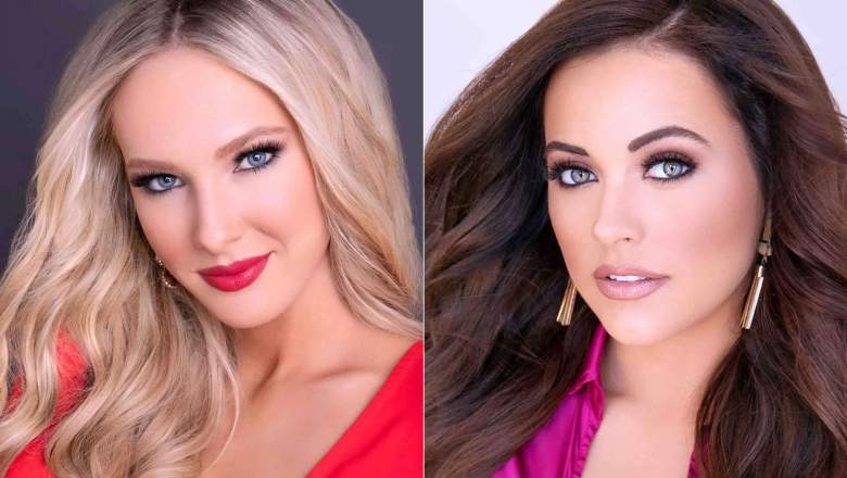 Two delegates from the 2020 Miss USA pageant