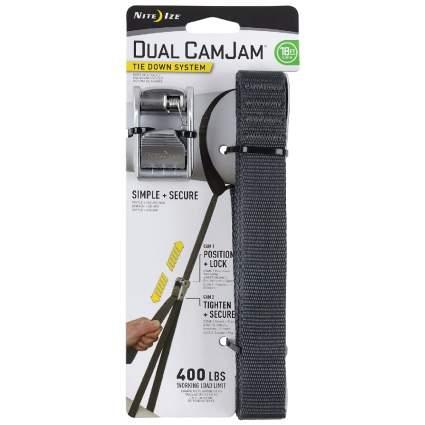 Nite Ize Dual CamJam Tie-Down Strap System