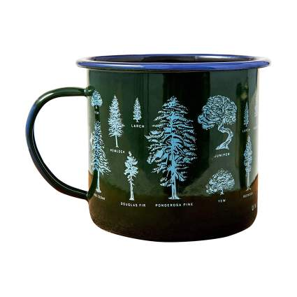 nited By Blue 22 Ounce Enamel Steel Camp Mugs