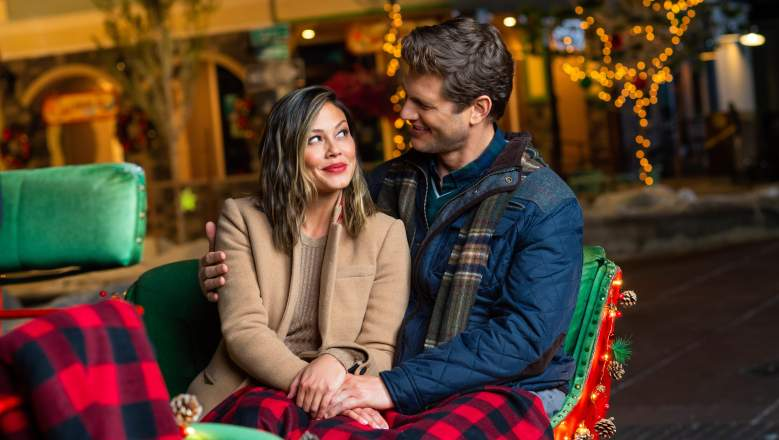 Vanessa Lachey and Ryan McPartlin star in Once Upon a Main Street