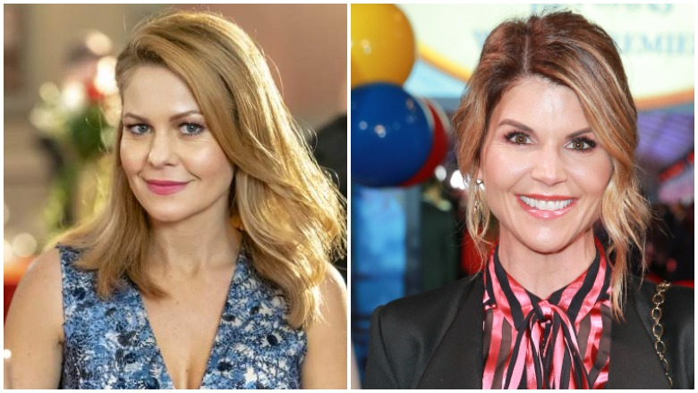 Candace Cameron Bure received a letter from Lori Loughlin