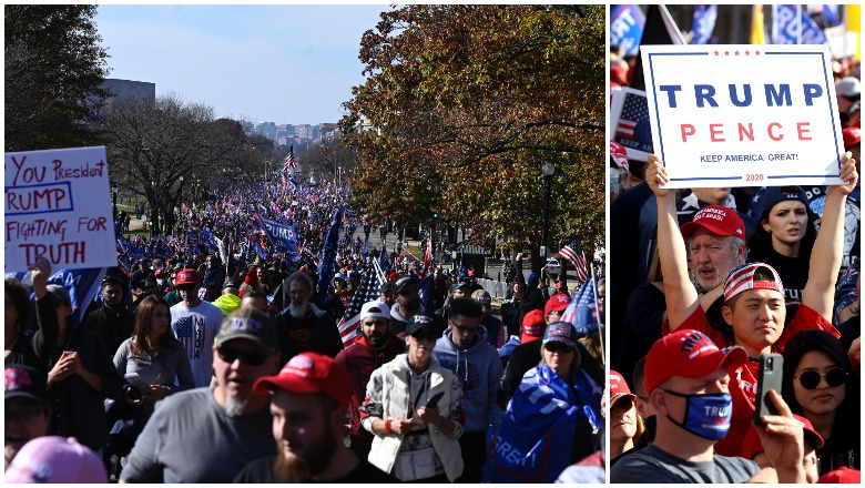 Million Maga March Crowd Size Turnout