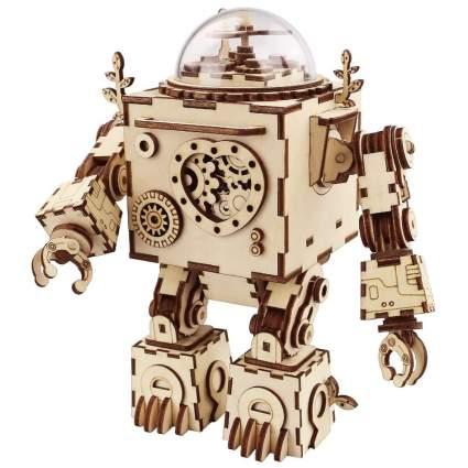 Robotime 3D Robot Music Box Puzzle