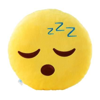 sleeping emoji pillow