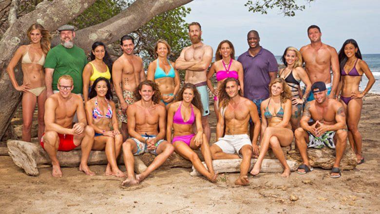 The cast of Survivor: Worlds Apart - White Collar vs Blue Collar vs No Collar