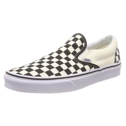 vans check shoes