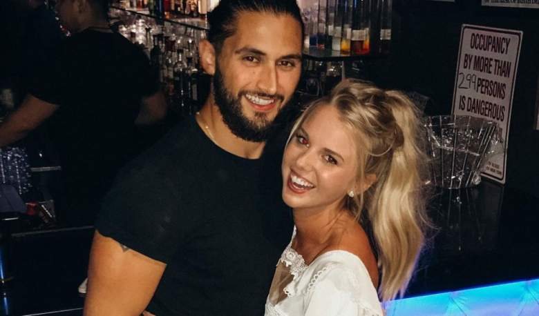 Victor Arroyo and Nicole Franzel had to cancel their December wedding