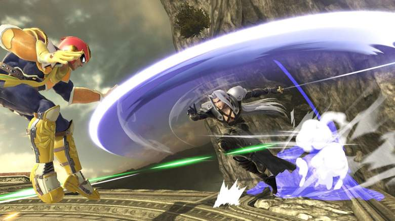 Sephiroth Super Smash Bros