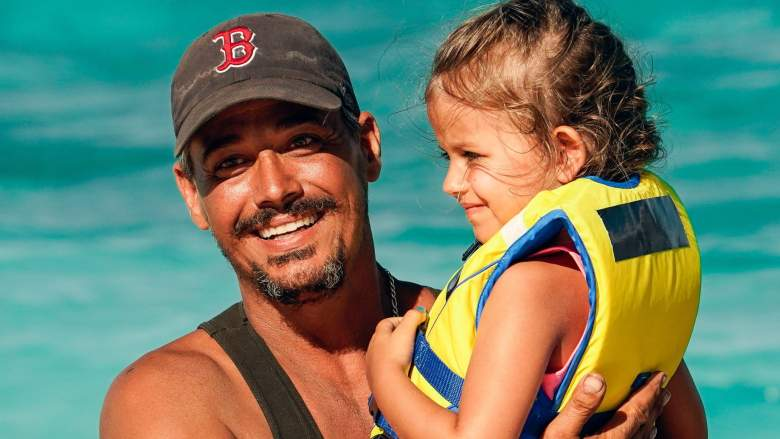 Boston Rob and his daughter on Survivor: Winners at War