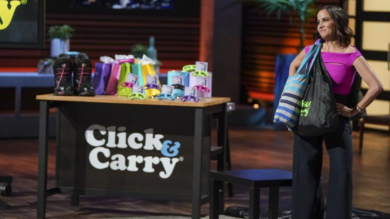 Click and Carry Shark Tank
