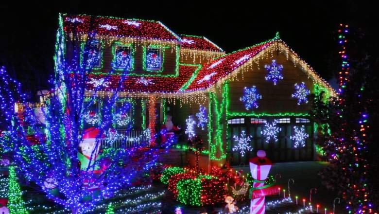Four festive families from across America showcase their incredible displays