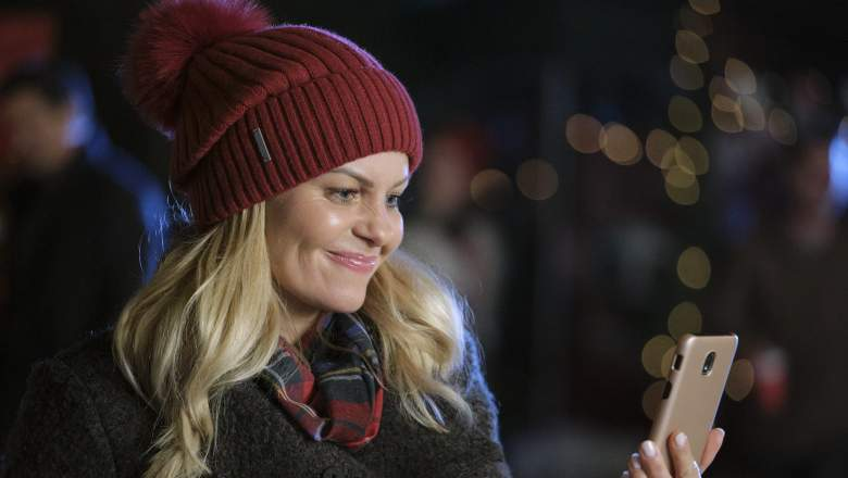 Candace Cameron Bure in her brother's Christmas video