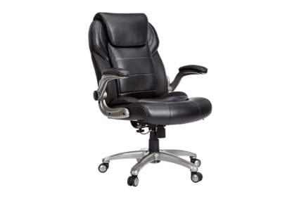 bonded leather high back office chair