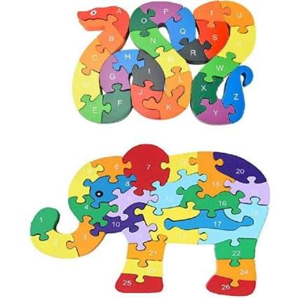Animal Wooden Jigsaw