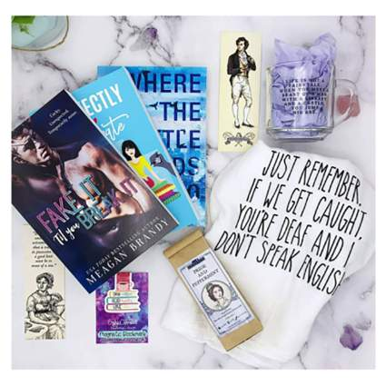 monthly book subscription box