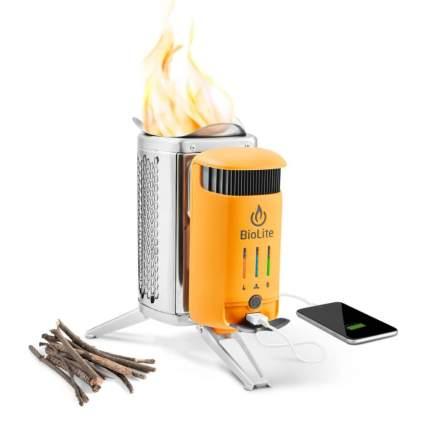biolite wood burning camp stove