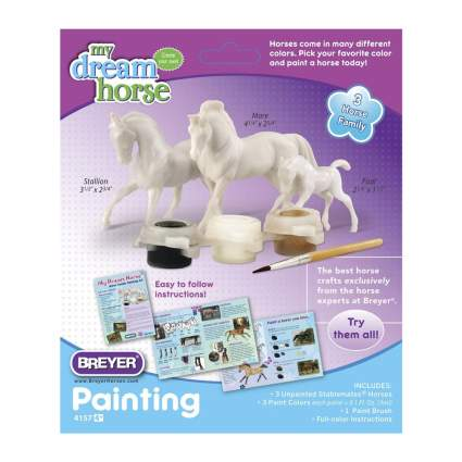 Paint your own Breyer horses