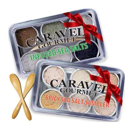caravel sea salt sampler