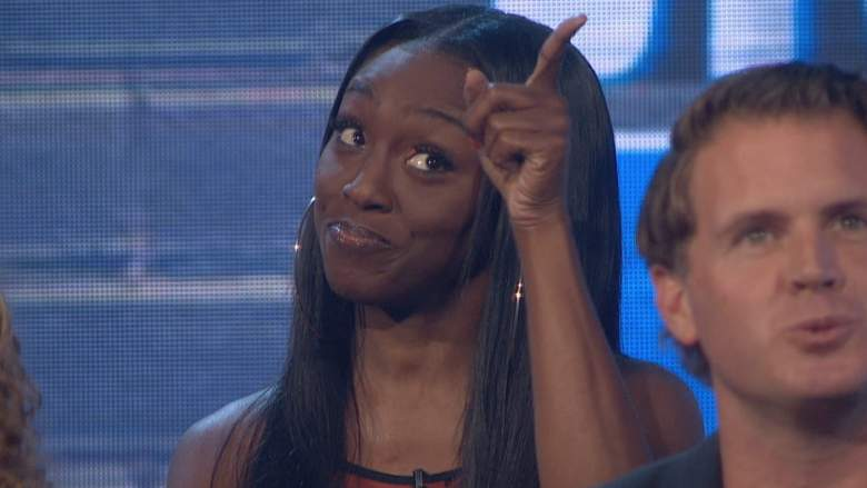 Da'Vonne Rogers at the finale of Big Brother All-Stars
