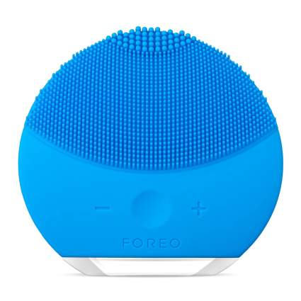 silicone ffacial cleansing brush