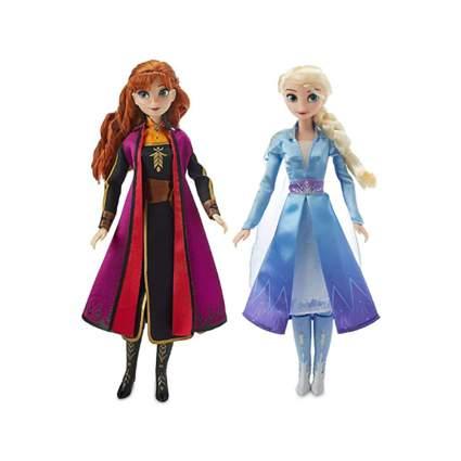 Elsa and Anna singing dolls